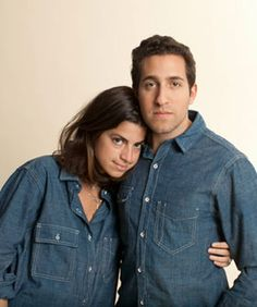 I just had to pin this as a moment pin.  Leandra Medine Aka the Man Repeller (awesome blog) styled her hubby @ Rag & Bone..