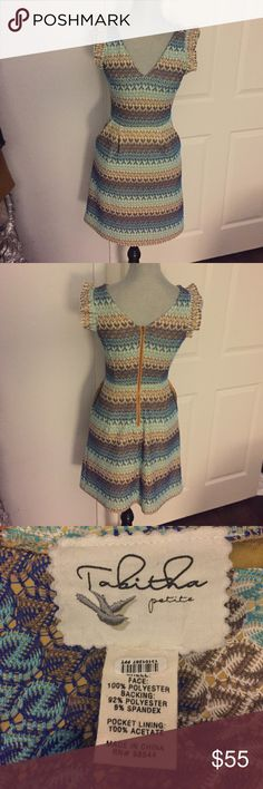 "Anthropologie Tabitha Dress Preloved! In good condition! Measures 33"" length 12 1/2"" flat waist. 14 1/2"" flat bust. I cannot find the size tag- please use measurements. 🚫Trades! Open to reasonable offers through the offer button! Anthropologie Dresses Mini"