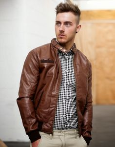 celebrity+men+leather+jackets.jpg (870×1110)