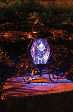 Solar Reflector Light Tabletop Lamp In Gift Box Toland Home Garden 240534 Patio Lights Camping World