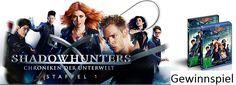 """Nur noch heute könnt ihr 2x die 1. Staffel der Serie """"Shadowhunters"""" gewinnen. Zum Teilnahmeformular: http://www.dietestfamilie.de/gewinnspiel-shadowhunters-chroniken-der-unterwelt/"""