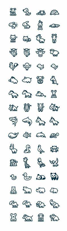 Animals, cute; Kawaii