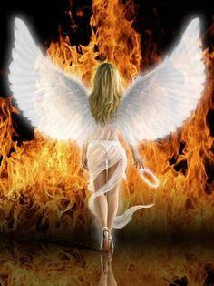 Where Science Meets Magick: Saving Lady Liberals Under Natal Venus Fantasy Art Angels, Foto Fantasy, Fantasy Art Women, Dark Fantasy Art, Angel Images, Angel Pictures, Beautiful Angels Pictures, Ange Demon, Demon Art