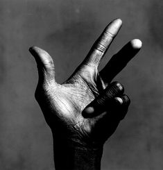 beforeitdisappears: The Hand of Miles Davis, by Irving Penn
