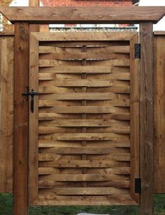 Add a Woven Gate to your Yard