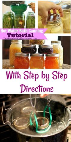 Canning 101 - Carrot Cake Jam Recipe - One Hundred Dollars a Month Water Bath Cooking, Hot Water Bath Canning, Home Canning Recipes, Canning Tips, Canning Process, Jelly Recipes, Jam Recipes, Cooker Recipes, Tuna Recipes