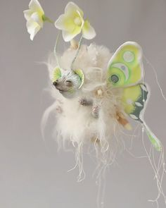Watch Video, Handmade Toys, Textile Art, Fairies, Fantasy Art, Doll Clothes, Creatures, Butterfly, Magic
