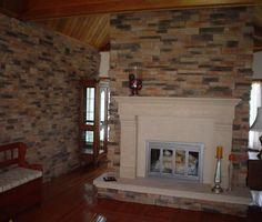 stone veneeer fireplace   Eldorado   Stone Veneer   Architectural ...