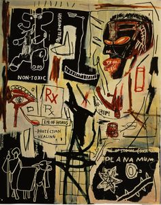 Melting Point of Ice, 1984 - Jean-Michel Basquiat - WikiArt.org