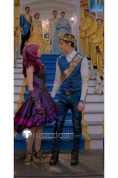 Princess Mal And King Ben Decendants 2 King Ben