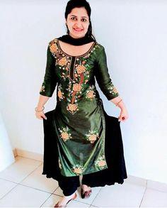 Designer Punjabi Suits, Shalwar Kameez, Dresses With Sleeves, Long Sleeve, Fashion, Moda, Sleeve Dresses, Long Dress Patterns, Fashion Styles