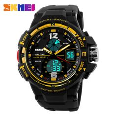 New Dual Time Men's Wristwatches Fashion Sports Watch Military Army Relogio Watches Men Luxury Brand Quartz Digital Clock Man