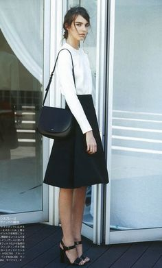Céline #celine #blackandwhite #fashion
