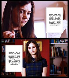 Vastra's letter to Clara. {gif} Good one, Vastra! :)