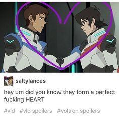 Hey, sabían que ellos forman un corazón?