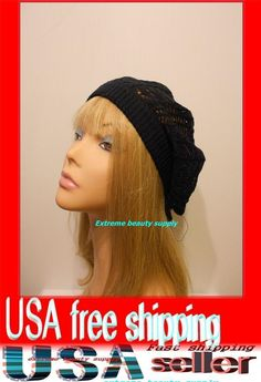 7.61$  Buy now - http://vijjq.justgood.pw/vig/item.php?t=oel4hn81967 - navy blue Women Lady thin Fashion Beret Beanie CROCHET France Artist CAP HAT 7.61$