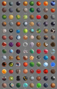 104 Material studies that ive done throughout April. Really feel like ive leveled up my rendering skills a bit as well as expanded my visual library and knowledge of different materials. Some of th...
