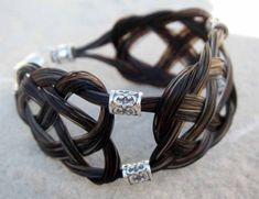 BELLA  Horse Hair Bracelet  Celtic  Sterling Silver by SHDStudios, $85.00
