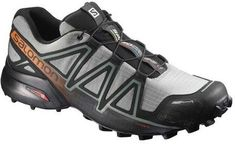With lugged soles and breathable, weather-resistant uppers, the Salomon Speedcross 4 CS men's trail-running shoes give you the confidence to rip through sloppy trails in wet weather. Best Trail Running Shoes, Hiking Shoes, Running Shoes For Men, Hiking Gear, Running Gear, Narrow Shoes, Running Accessories, Barefoot Running, Shoes Stand