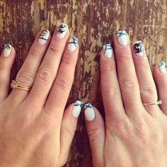 One fan's #Eagles manicure. Get yours for FREE this weekend at our Style Lounge.