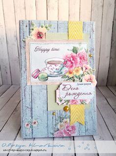 As if by magic by Olesya Kharkova: Birthday card или В несвойственной мне манере
