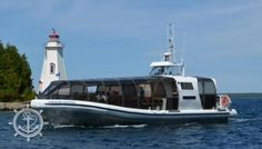 There are 6 glass bottom boats in Tobermory. Bruce Anchor Cruises own 3 of those 6 vessels, the Tobermory Frontier, Tobermory Crusader, and… Flowerpot Island, Glass Bottom Boat, How To Book A Cruise, Cruises, Ontario, Evolution, Anchor, Boats, The Incredibles