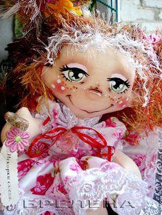 Текстильная кукла Феечка Смешинка. - текстильная кукла,купить куклу