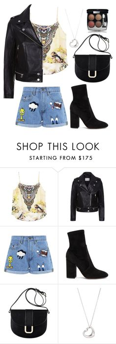 """""""the lonely king//barbara"""" by wanderlustpan ❤ liked on Polyvore featuring Sandro, Paul & Joe Sister, Valentino, A.P.C., Tiffany & Co. and Chanel"""