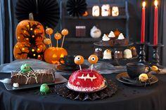 Bei Monster-Torte oder Gespenster-Kuchen werden selbst die schauerlichsten Geister zahm und versammeln sich gerne zum genüsslichen Gruseln bei Kuchen und Kaffee.