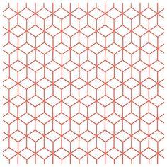 Kube sur Au Fil des Couleurs Plus - Bestrecipes Graphic Patterns, Textile Patterns, Print Patterns, Principals Of Design, Scandinavian Pattern, Pattern Photography, Old Paper, Textured Wallpaper, Texture Art
