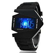 Men's Watch Sports LED Stealth Aircraft Silic... – USD $ 4.95... DOPE WATCH!!!!
