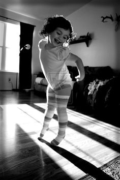 Dance like a child and embrace the joy in it! Little Girl Dancing :)