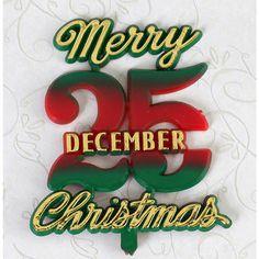 Merry Christmas, December 25th