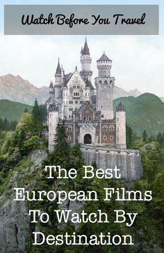 Nothing gets you in the mood for your next trip like watching a movie, set in the location you're due to visit, full of the culture you are about to experience – these are the best travel films to watch before heading to your destination. European films, travel films, Euro films.