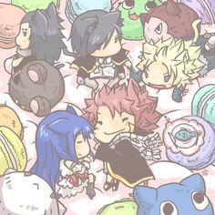 FairyTail Chibi dragon slayers & their exeeds Fairy Tail Manga, Anime Fairy, Kodomo No Omocha, Fairy Tail Dragon Slayer, Super Manga, Fangirl, Ao Haru, Fairy Tail Couples, Fairy Girls
