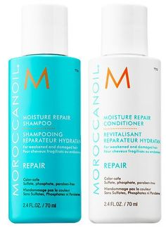 Moroccanoil Moisture Repair Shampoo and Conditioner Travel Set 2.4 oz each ** You can find out more details at the link of the image.