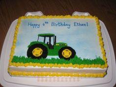 John Deere Birthday John Deere tractor birthday cake all BC Green Birthday Cakes, Tractor Birthday Cakes, 90th Birthday Cakes, 2nd Birthday Boys, Thomas Birthday, Boy Birthday Parties, Tractor Cakes, 85th Birthday, Birthday Ideas