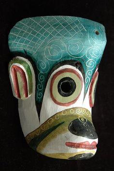 Decorative monkey mask, Guatemala by permtran, via Flickr