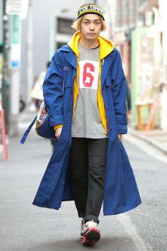 z1_PwU20140415 Man Japan, Japan Fashion, Harajuku, Tokyo, Rain Jacket, Windbreaker, Japan Style, Street Style, Nike