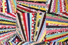 Fandango Quilt Pattern Art Quilt Wall Quilt String Quilt | Etsy #BuyFabric Quilt Studio, Novelty Fabric, Retro Fabric, Scrap Quilt, Scrap Fabric, Buy Fabric, Scrappy Quilt Patterns, Quilting Fabric, Patchwork Quilting