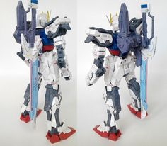 Gundam GAT-X105 Strike Papercraft - Sword