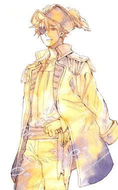 Hetalia Pirate!America! Yep, not England, but America! Must say, Alfred could pull this off pretty well if he could remain serious~! >:3