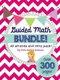 Guided Math BUNDLE!  **All strands for grade 3 common core and intro activities packet! ** Over 300 pages!  Lesson Trios for each topic- perfect for small group instruction and Daily 5 Math programs!  $  Ontario Curriculum also available!! *