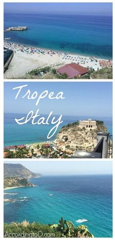 Tropea Italy | The southern coast of Italy. The Mediterranean Sea is breathtaking here!