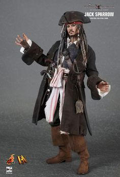 "Movie Masterpiece [DX] ""Fountain of Life Pirates of The Carribean"" 1/6 Scale Action Figure Jack Sparrow DX 6"