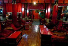Prayer Hall Inside The Potala Palace, Lhasa, Tibet