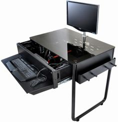 1000 images about projeto mesa case pc on pinterest - Table ordinateur ikea ...