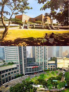 Philippines Culture, Manila Philippines, Philippine Architecture, Modern Architecture, Makati City, Green Belt, Theatre Design, Pinoy, Old Photos