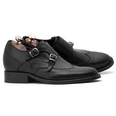 Elevator Double Monk Strap Shoes : Ostuni