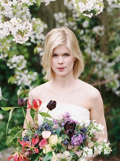 Blossoming Garden: Fragrant Jasmine & Beautiful Florals Bridal Shoot see more at http://www.wantthatwedding.co.uk/2015/07/31/blossoming-garden-fragrant-jasmine-beautiful-florals-bridal-shoot/